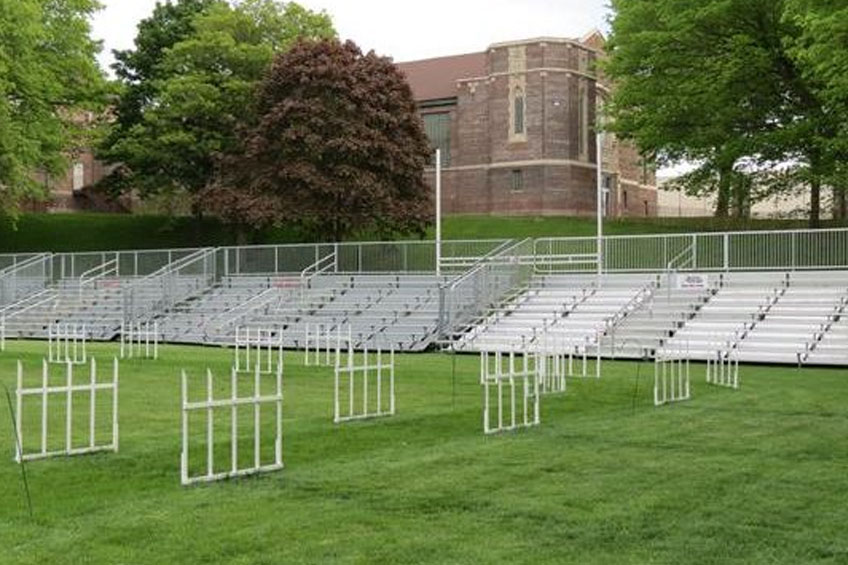 Bleacher Rentals for Sporting Events